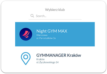GYMMANAGER fitness clubs search engine