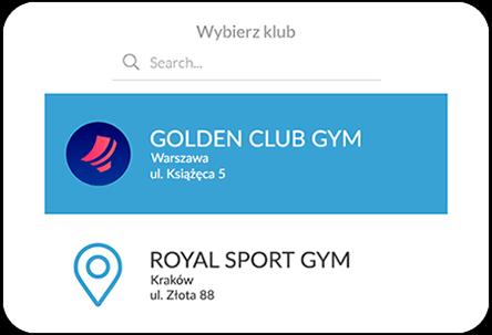 Aplikacja mobilna dla klubu fitness