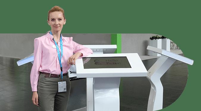 GYMMANAGER self-service kiosk